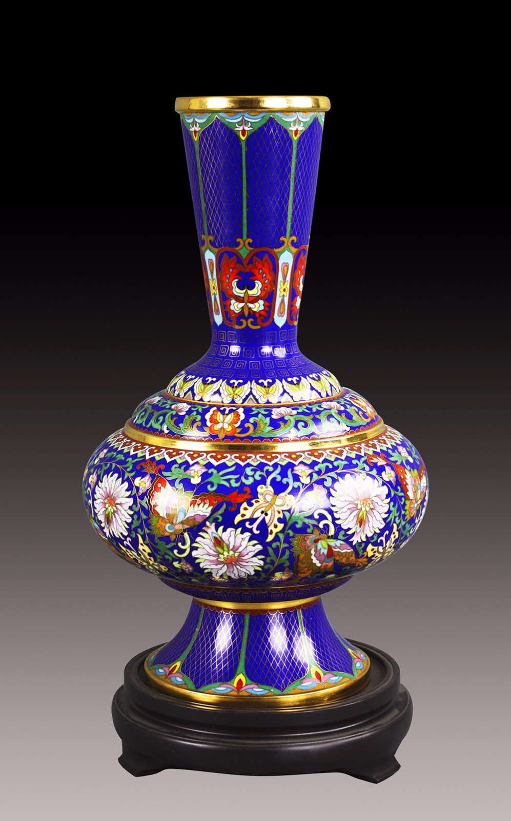 《蝶花瓶》深蓝.jpg